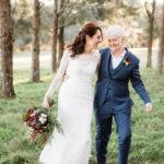 lesbian wedding dresses australia